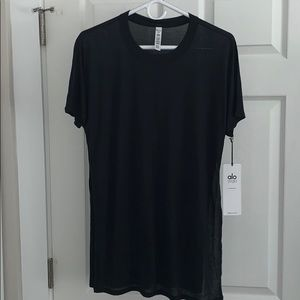 NWT alo yoga dreamer short sleeve top